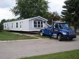 Moving a mobile home